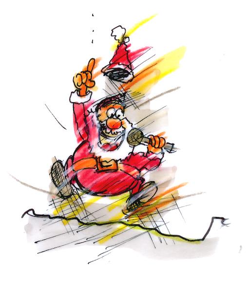weihnachtsmann entertainer