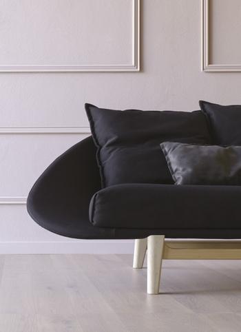 couch geschwungene form